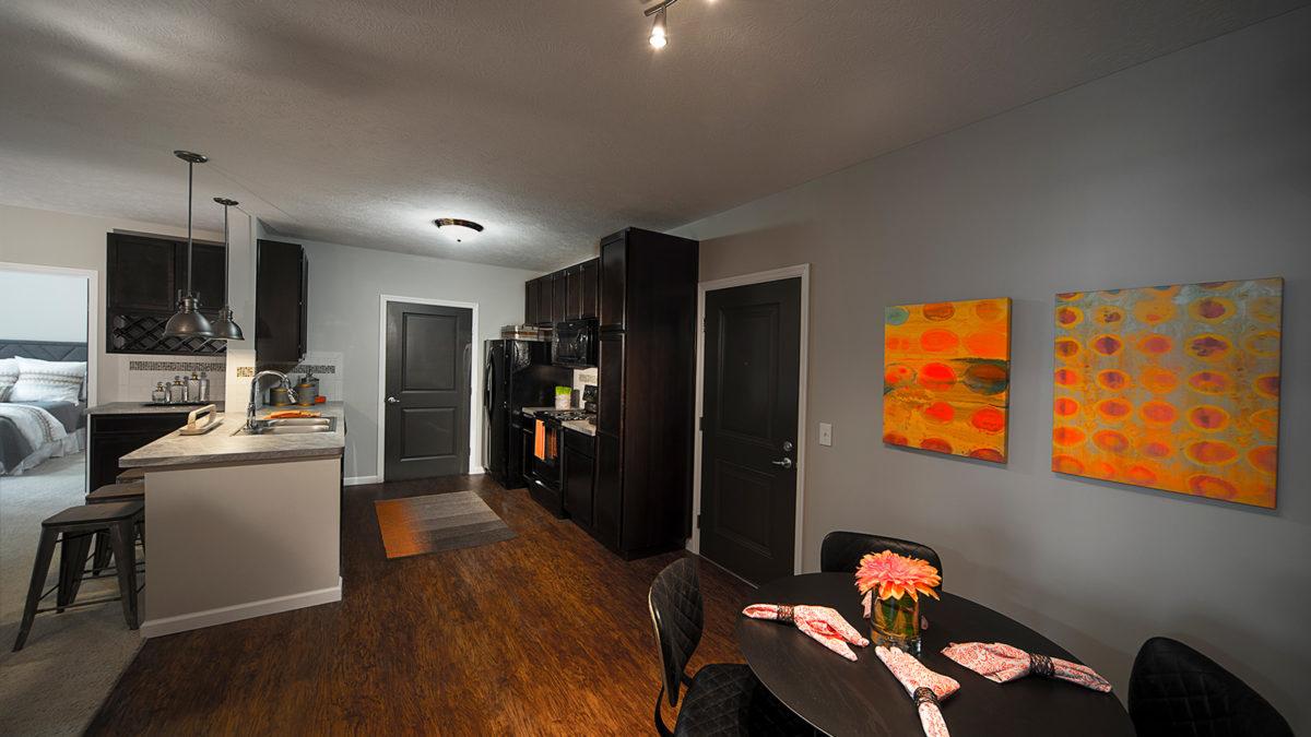 Taylor House kitchen model