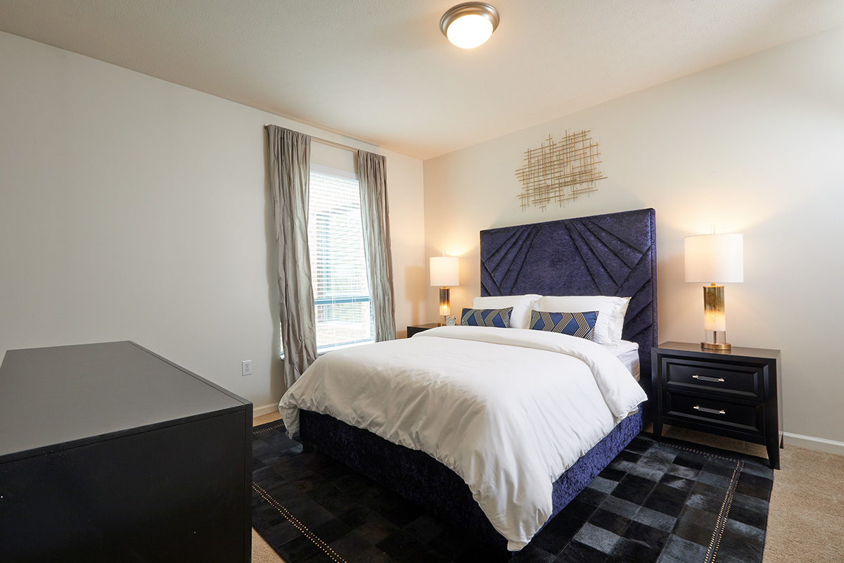 Arena Crossing Apartments bedroom