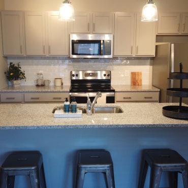 Apartments at the Yard kitchen