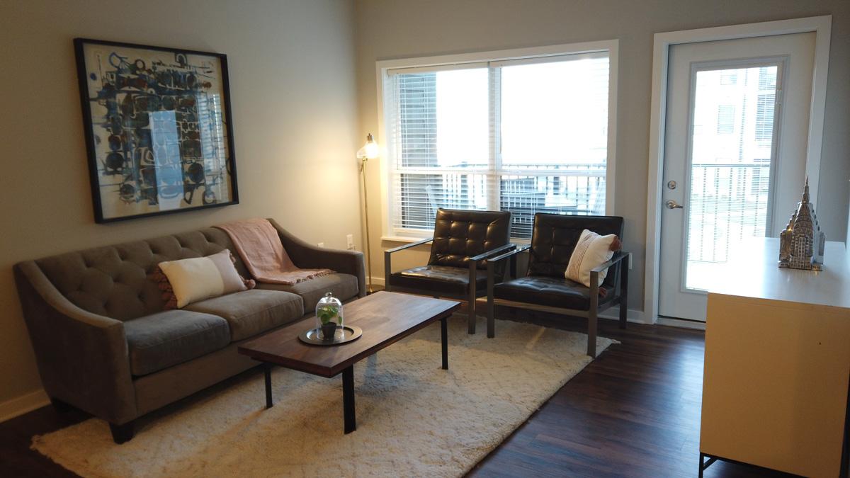 Apartments at the Yard living