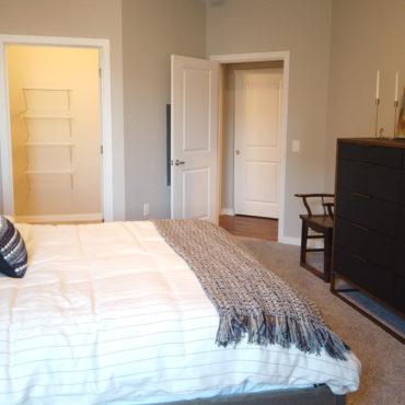 Apartments at the Yard bedroom