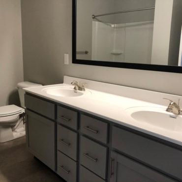 Apartments at the Yard bathroom