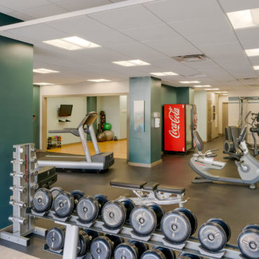 The Seneca Apartments downtown columbus gym