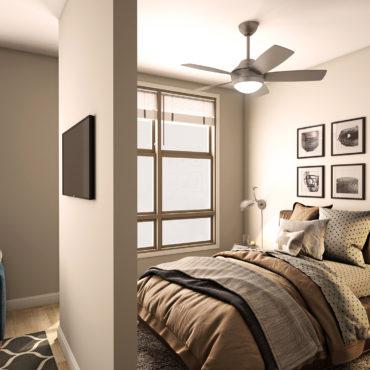 Studio Apartment at The Adelphi Quarter
