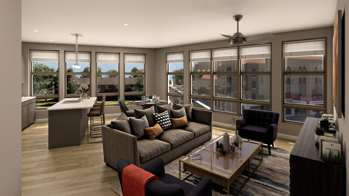 Apartment with a view at The Adelphi Quarter