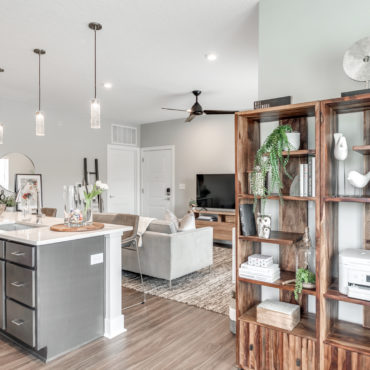 One bedroom apartments in The Jacqueline apartments in Olde Towne East