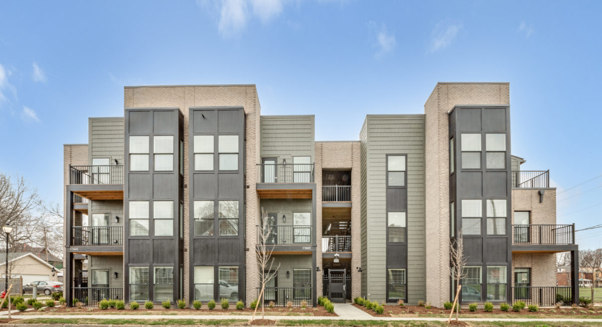 The Jacqueline apartments in Olde Towne East