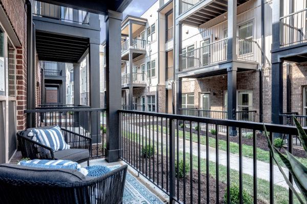 Balcony at Grant Park Apartments