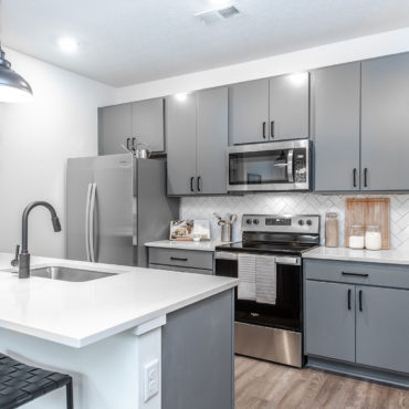 Kitchen in Grant Park Apartments