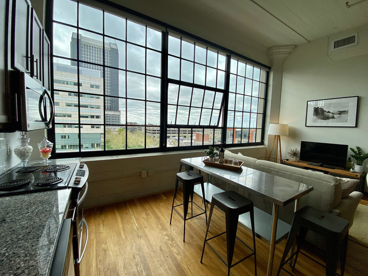 in One Bedroom Apartment Downtown at The Julian