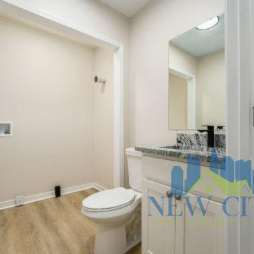half bath of Duplex for rent in Franklinton