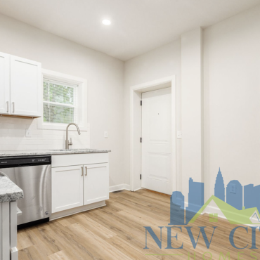kitchen of 91 N. Central home to rent in Franklinton
