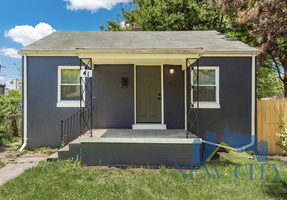 front of house to rent in franklinton