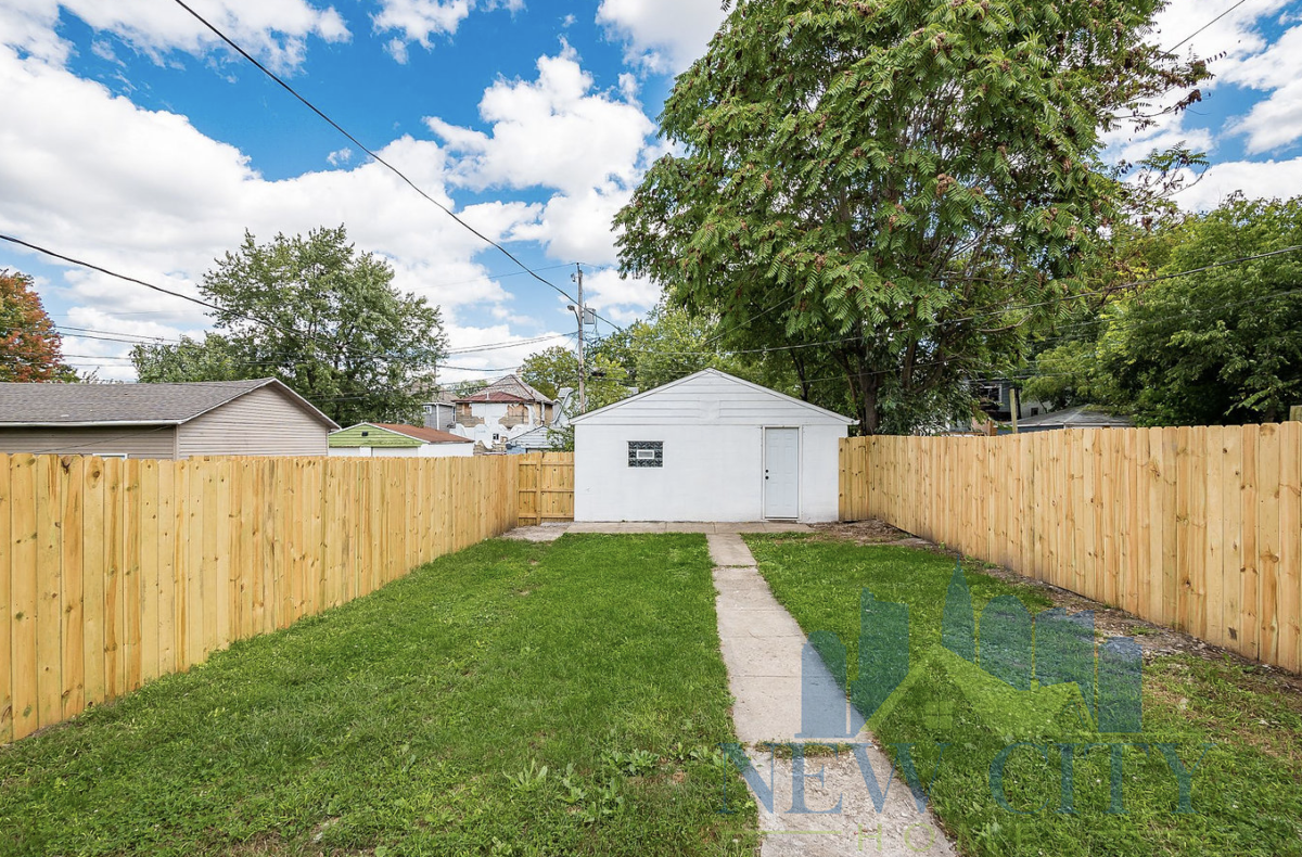 backyard space of 280 S. Central Avenue